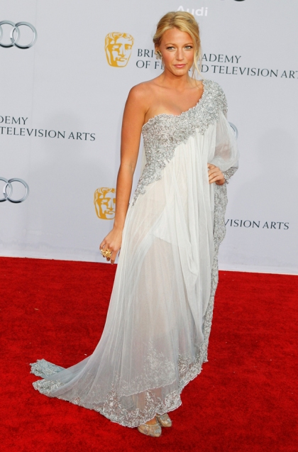 Actress Blake Lively arrives at the BAFTA Brits to Watch event in Los Angeles