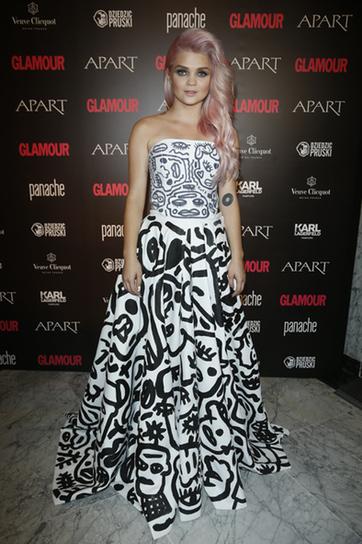 Kobieta Roku Glamour 2014, wrzesień 2014, suknia: Bartek Janusz, Margaret