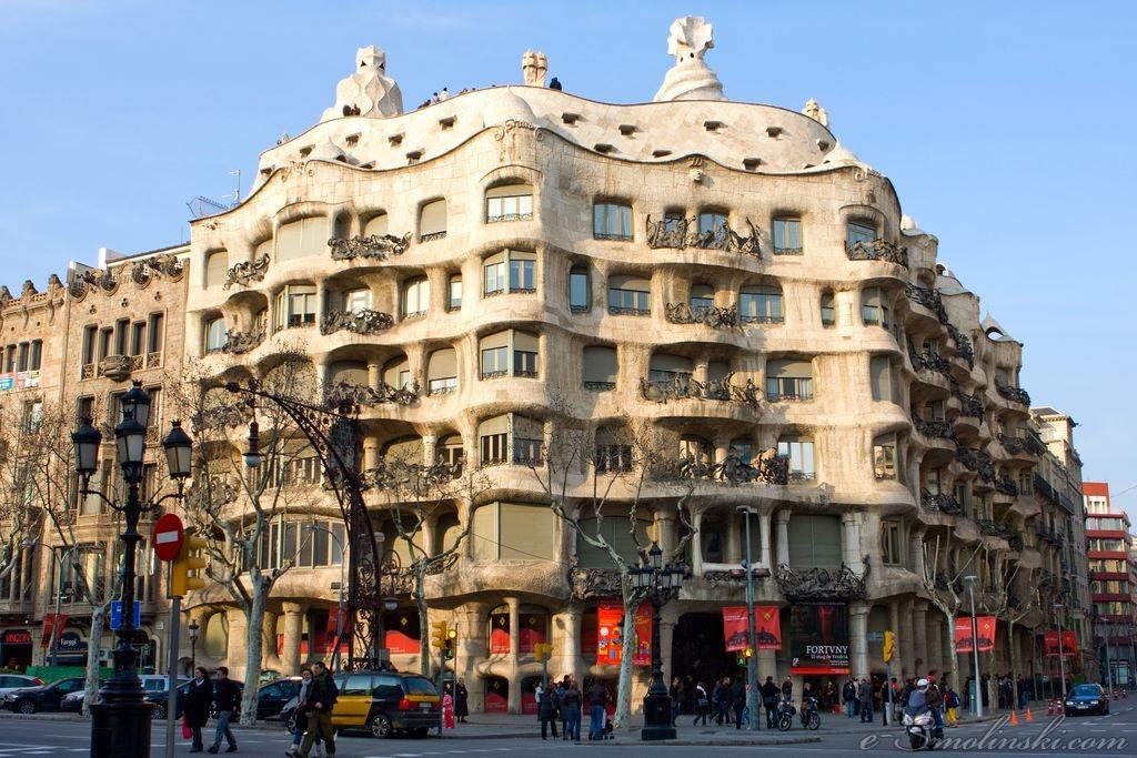 Katalonia kobieca intuicja - Casa mila la pedrera ...