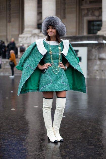 la-modella-mafia-Chanel-and-thigh-high-boots-street-style-at-Haute-Couture-Spring-2013-Fashion-Week-Miroslava-Duma