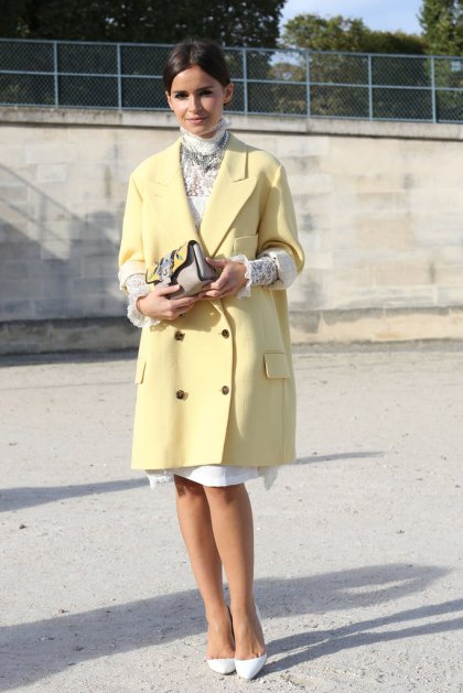 Paris-Fashion-Week-Street-Style-Spring-2013-miroslava-duma-yellow-coat