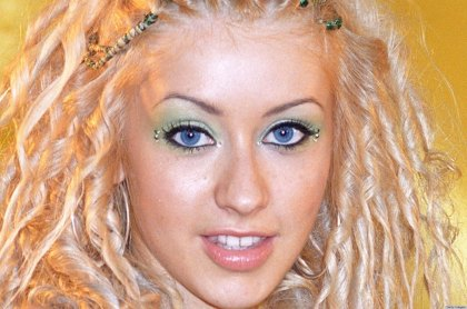 Christina Aguilera Portrait Session