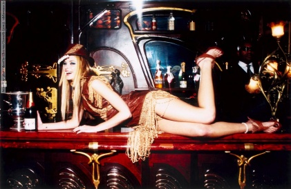 Jaime King photo shoot by Ellen von Unwerth (2001)
