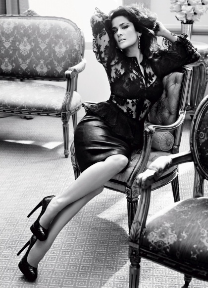 Salma Hayek in a photoshoot for Vogue Germany September 2012 issue-03
