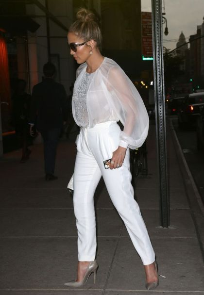 Jennifer Lopez Spotted Out And About In New York City
