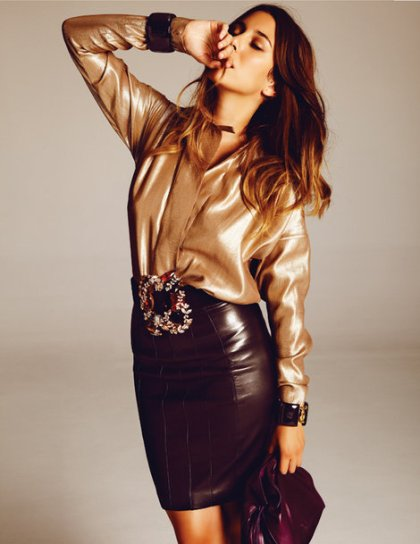 blanca-suarez-and-loewe-leather-icons-stretch-skirt-gallery