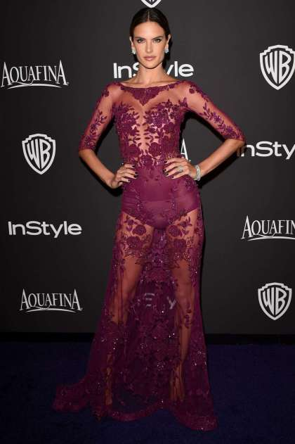 Alessandra-Ambrosio -2015-InStyle-And-Warner-Bros-Golden-Globes-Party--06