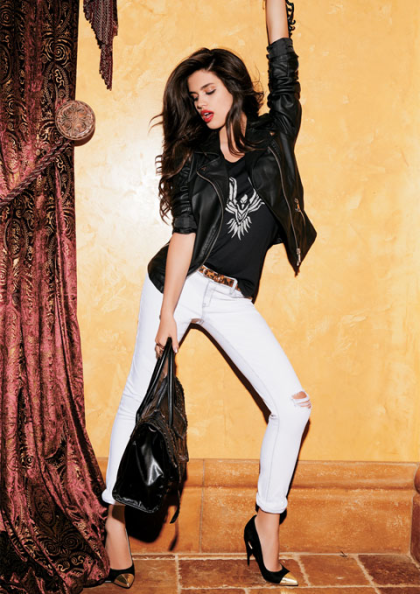 Sara Sampaio for Dynamite Fall 2013 Collection