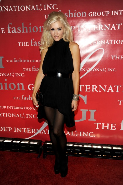 Gwen Stefani attends Fashion Group International's 26th Annual Night of Stars at Cipriani Wall Street on October 22, 2009 in New York City. Fashion Group International's 26th Annual Night Of Stars - Inside Cipriani Wall Street New York, NY United States October 22, 2009 Photo by Rabbani and Solimene Photography/WireImage.com To license this image (17066528), contact WireImage.com