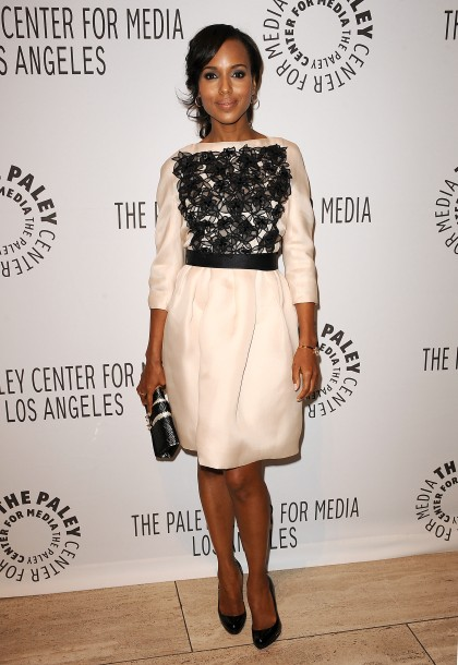 BEVERLY HILLS, CA - SEPTEMBER 11:  Actress Kerry Washington attends the ABC fall preview party at The Paley Center for Media on September 11, 2012 in Beverly Hills, California.  (Photo by Jason LaVeris/FilmMagic)