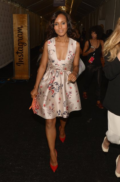 Kerry-Washington-attended-New-York-Fashion-Week-Spring-2014