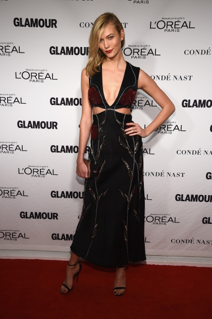NEW YORK, NY - NOVEMBER 10: Model Karlie Kloss attends the Glamour 2014 Women Of The Year Awards at Carnegie Hall on November 10, 2014 in New York City. (Photo by Dimitrios Kambouris/Getty Images for Glamour)