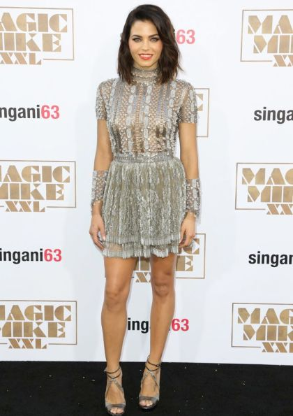 Celebrities attend the premiere of Warner Bros. Pictures' 'Magic Mike XXL' at TCL Chinese Theatre IMAX in Hollywood. Featuring: Jenna Dewan Tatum Where: Los Angeles, California, United States When: 26 Jun 2015 Credit: Brian To/WENN.com
