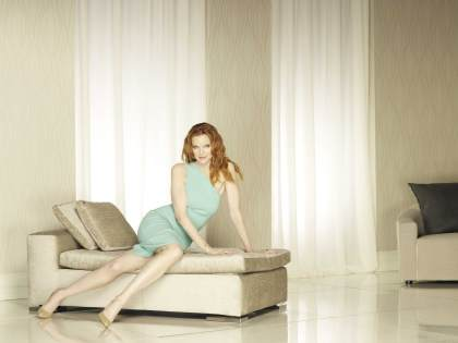 """DESPERATE HOUSEWIVES - ABC's """"Desperate Housewives"""" stars Marcia Cross as Bree Hodge. (ABC/MATTHEW ROLSTON)"""
